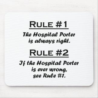 Rule Hospital Porter Mouse Pad