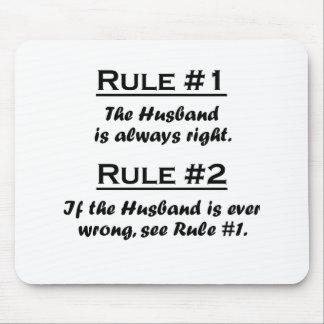 Rule Husband Mouse Pad
