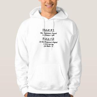 Rule Insurance Agent Hooded Sweatshirt