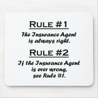 Rule Insurance Agent Mouse Pad