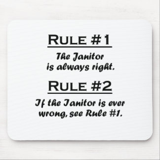 Rule Janitor Mouse Pad