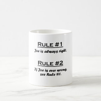 Rule Joe Coffee Mug
