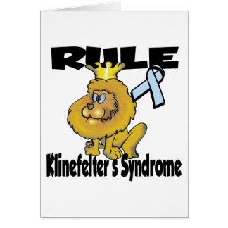 Rule Klinefelters Syndrome Card