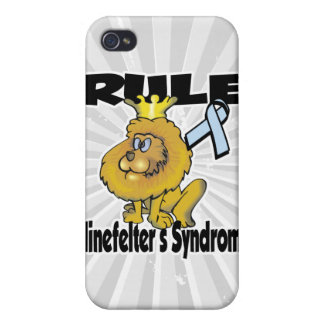 Rule Klinefelters Syndrome iPhone 4/4S Cover