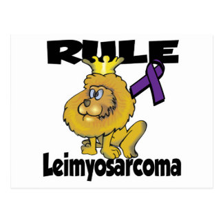 Rule Leimyosarcoma Postcard