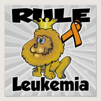 Rule Leukemia (orange) Poster