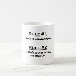 Rule Linda Coffee Mug