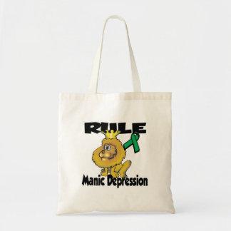 Rule Manic Depression Budget Tote Bag