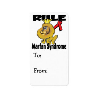 Rule Marfan Syndrome Label