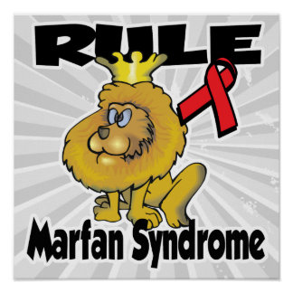 Rule Marfan Syndrome Poster