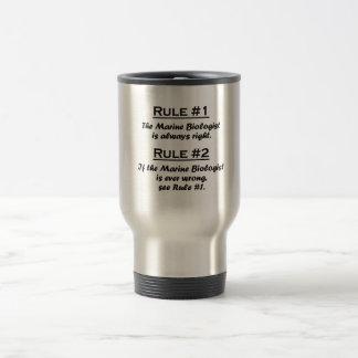 Rule Marine Biologist Travel Mug