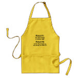 Rule Meat Cutter Adult Apron