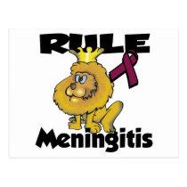 Rule Meningitis Postcard