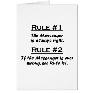 Rule Messenger Card