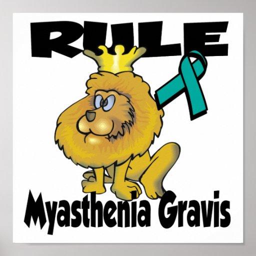 Rule Myasthenia Gravis Poster