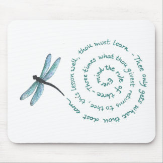 Rule of 3 - Witch's law -Wiccan Rede Mouse Pad