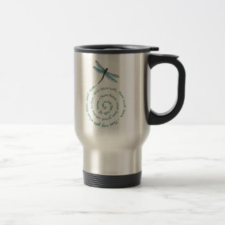 Rule of 3 - Witch's law -Wiccan Rede Travel Mug