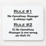 Rule Operations Manager Mouse Pad