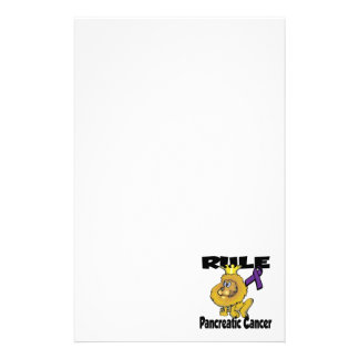 Rule Pancreatic Cancer Stationery
