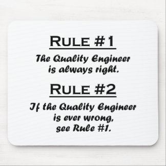 Rule Quality Engineer Mouse Pad