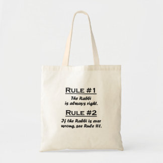 Rule Rabbi Bag