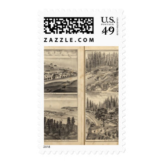 Rule Ranch Old Fort Ross Meeker Bros Postage Stamps