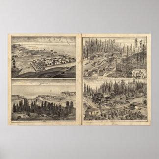 Rule Ranch Old Fort Ross Meeker Bros Print