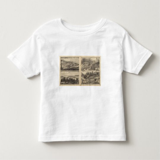 Rule Ranch Old Fort Ross Meeker Bros Toddler T-shirt