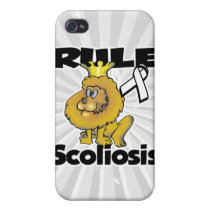 Rule Scoliosis iPhone 4 Case