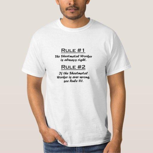 Rule Sheetmetal Worker Shirt