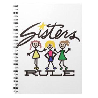 Rule Spiral Notebook