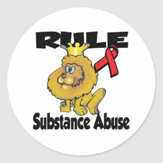 Rule Substance Abuse Stickers