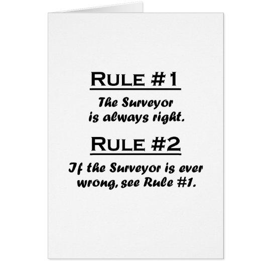 Rule Surveyor Card