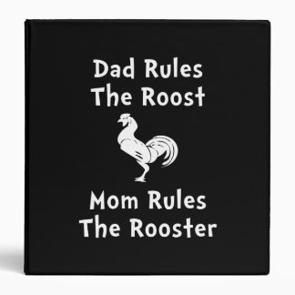 Rule The Rooster Binder