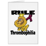 Rule Thrombophilia Greeting Cards
