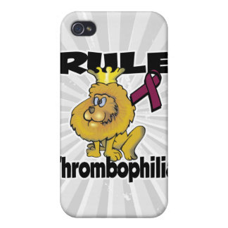 Rule Thrombophilia iPhone 4/4S Cover
