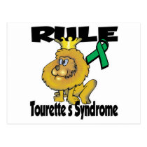 Rule Tourettes Syndrome Postcard