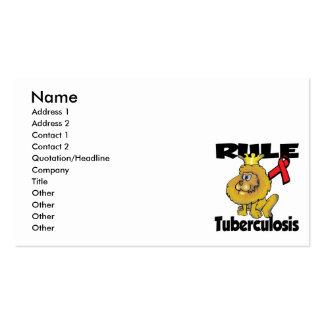 Rule Tuberculosis Business Card Templates