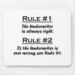 Rule Underwriter Mousepad