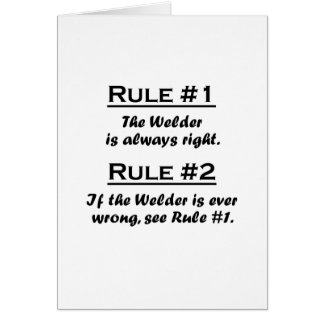 Rule Welder Card