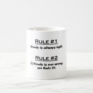 Rule Wendy Coffee Mug