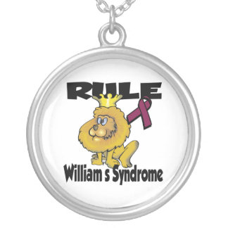 Rule Williams Syndrome Silver Plated Necklace