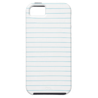 RULED LINED PAPER iPhone SE/5/5s CASE