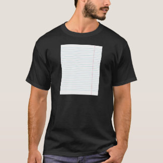 RULED LINED PAPER T-Shirt
