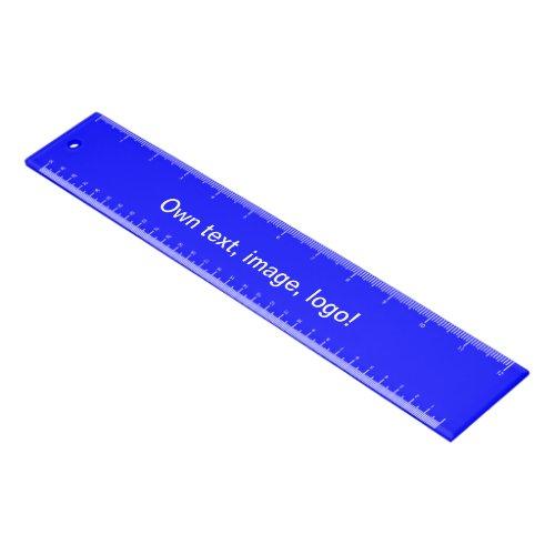 Ruler Acrylic uni Royal Blue