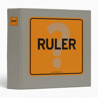 RULER? BINDER