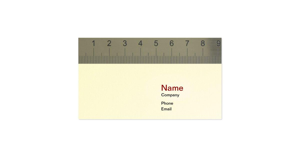 Ruler business cards militaryalicious ruler business cards colourmoves