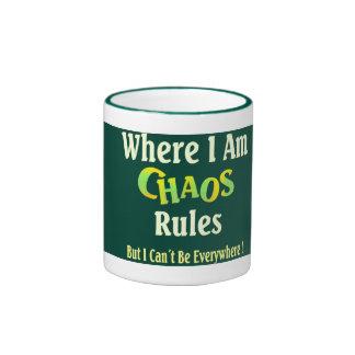 Ruler of Chaos Ringer Coffee Mug