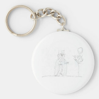 Ruler of the Graveyard Basic Round Button Keychain