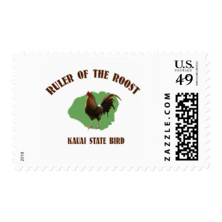 Ruler of the Roost Kauai Postage